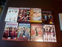 Desperate Housewives DVDs seasons 1-8