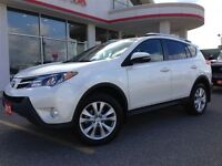 2013 Toyota RAV4 Limited HEATED TWO TONE LEATHER ROOF REAR CAMER