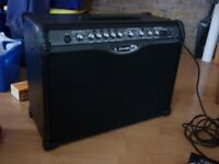 Line 6 Spider II guitar Amp with pedal and built in effects and tunner , mint condition