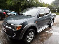 2006 MITSUBISHI L200 ANIMAL GREY , 3 MONTHS WARRANTY , 155K , MANUAL
