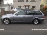 BMW 320 SE DIESEL ESTATE AUTO 05 REG CHAIN DRIVEN