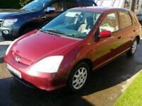 Honda civic 2002 1.4 spares or repair