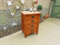 JALI SHESHAM CHEST OF DRAWERS IN EXCELLENT CONDITION 51/36/74 cm £40
