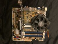 motherboard with grapich card