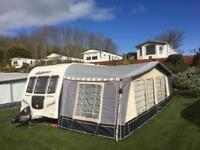 Bailey Pegasus 624 fixed bed twin axel Caravan 2010