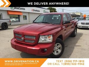 2008 Dodge Dakota SXT 4X4! V8 CREW CAB! LOW KILOMETERS!