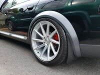 "Vossen 5x120 BMW 19"" styled stunning alloy wheels (fit Audi A6 nice with adaptors)"