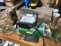 Monsoon 3 bar twin pump