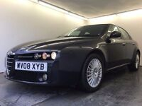 2008   Alfa Romeo 159 Lusso 2.4   Auto  Diesel  2 Former Keepers  Full Service History  HPI Clear