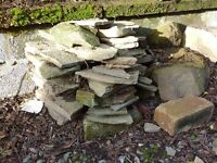 Small pile of stones