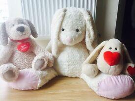 x3 Large soft toys