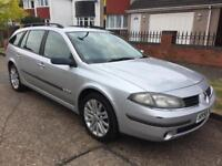 RENAULT LAGUNA EXTREME DCI 120 LONG MOT STARTS AND DRIVES GREAT