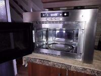 Whirlpool AMW 748 intergrated microwave