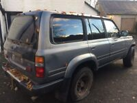 Wanted Toyota Landcruiser Amazon 4.2 td diesel 80/100 series any condition