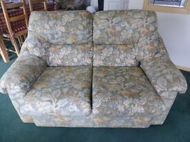 Double Sofa with Two Matching Chairs