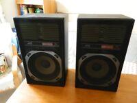 JVC SP E11BK HiFi Speakers
