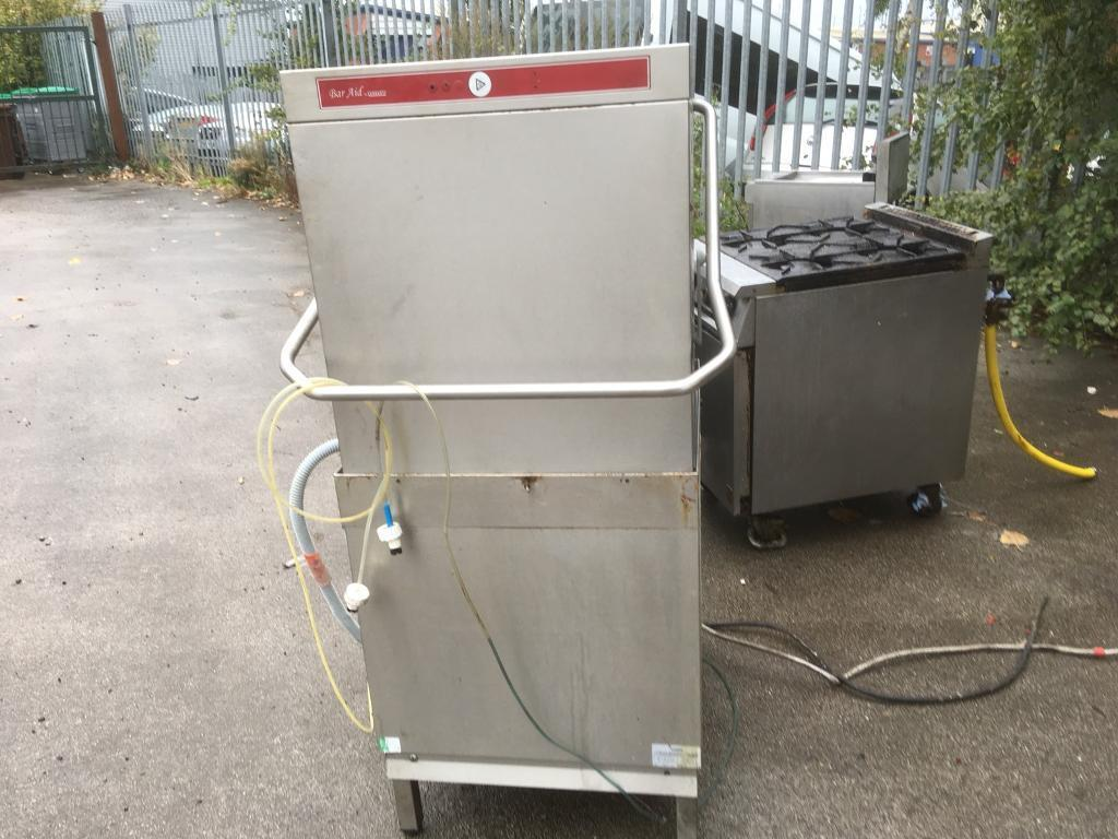 Hobart Commercial pass through Dishwasher