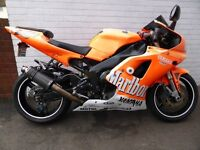 1998 YAMAHA YZF R1 LTD EDITION TEAM MALBORO
