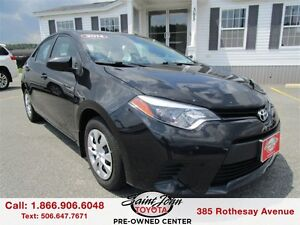 2014 Toyota Corolla CE $99.23 BIWEEKLY!!!