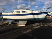 22ft Leisure Day Sailer, full sails and spares,