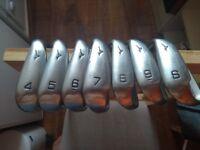 Mizuno MX-100 Golf Clubs. Golf Irons 4-9 & SW (7 clubs - no PW). Game-Improvement Irons.