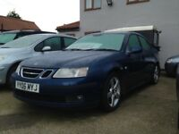 Saab 9-3 Vector saloon 2006 long mot