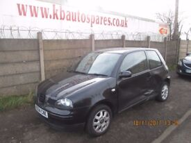 Seat Arosa 1L Petrol 2004 breaking for spares Wheel Nut.