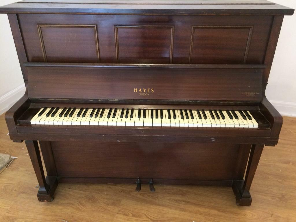 Hayes London piano / h.fraser & co