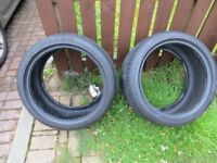 Nexen N'Fura SU1 Tyres in very good condition. 275 35 R18, 275/35ZR18 99W Two tyres.