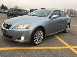 2008 Lexus IS 250 NAVI & REAR VIEW CAMERA & HEATED & COOLED SEAT