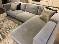 Corner Sofa - Includes new cover