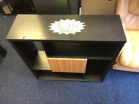 *** Small black storage unit with storage cupboard***Free Local Delivery***