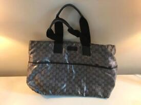 Gucci pram / nappy changing bag