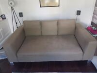 Free sofa - comfy and deep, from made
