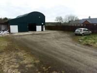 Automotive Garage commercial unit or storage unit for rent