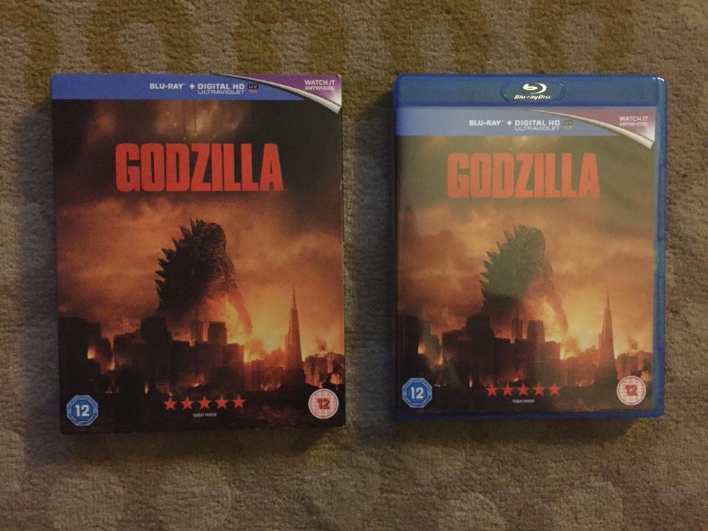 Godzilla Bly-Ray + Digital HD Copy