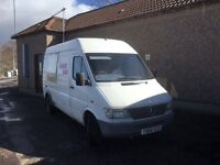 *** mercades sprinter 412d snack van swap px car van ***