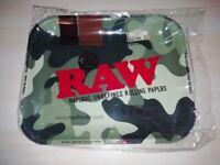 RAW Camo Genuine XL Metal Rolling Tray (Brand New)