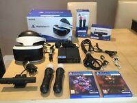 PS VR Bundle Like New few weeks old