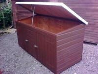 garden shed or storage unit, many uses 8ft by 4ft and 4ft tall
