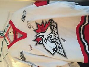Game Worn Mississauga Icedogs Jersey