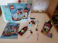 Frozen Lego playset Disney Princess Elsa's Market play set. Complete excellent condition