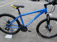 Mtrax Lahar Brand New Mountain Bike Lightweight Aluminium Frame Disk Brakes Lockout Forks