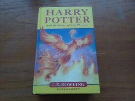 Harry potter 1st edition