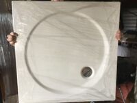 Good quality shower enclosure and tray 800x 800mm