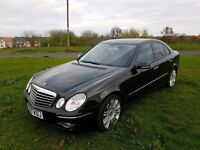 2008 mercedes e280- cdi sport automatic 221 bhp fsh immaculate inside and out