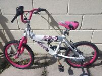 Girls mountain bike ideal for 6-8 year olds