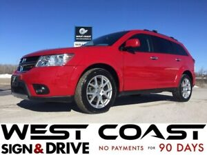 2013 Dodge Journey R-T AWD *HEATED LEATHER* REMOTE START*