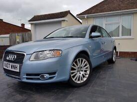 Audi A4 2.0 Diesel,low mileage, new MOT, good condition, rare built in sat nav
