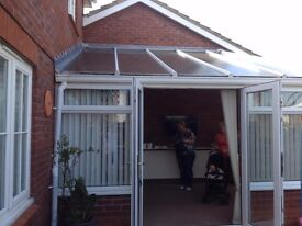 Lean to Conservatory white upvc